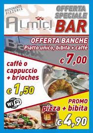 promo cuisine promo bar picture of almici ristorante pizzeria bar lovere