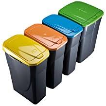 poubelle de bureau tri selectif amazon fr poubelle tri selectif 3 bacs