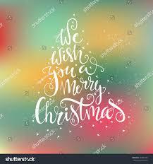 we wish you merry quote stock vector 334857344