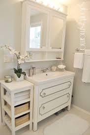 Ikea Bathroom Medicine Cabinet - suburbs mama master bathroom reveal vanity side table medicine