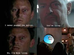 Lost Memes Tv - lost meme never pushed the button troll on bingememe