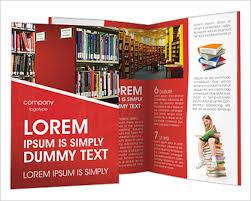 university brochure template library brochure template 23