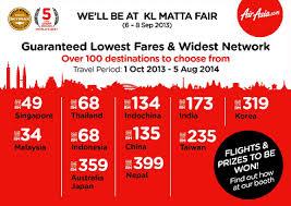 airasia travel fair airasia press release airasia and airasia x offering 6 million