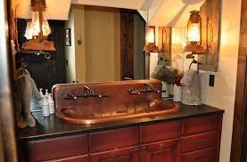 Copper Trough Sink High Back Built To Order Copper Bathroom Copper Bathroom Fixtures