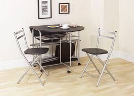 Folding Table With Chairs Inside Breakfast Set Tupperware Space Saving Dinette Sets Folding Dining