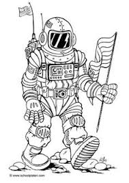 astronaut coloring page space coloring pages niall pinterest spaces and kids colouring