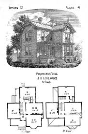 historic southern home plans design best victorian house images on