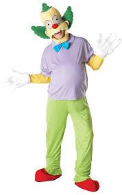 clown costume krusty the clown costume jokers masquerade