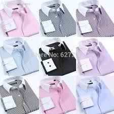 wholesale white collar men dress shirts 2016 new iron luxury long
