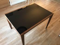 Table Verre Noir Extensible by Table Verre Bois Extensible Ampm