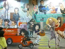 El Mural by Mural Un Viaje Por El Rock U0026 Roll En El Metro Auditorio Vida De