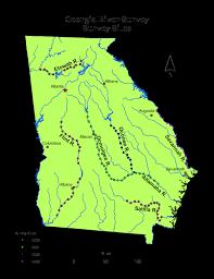 Georgia rivers images Georgia river survey png