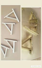 How To Build Wood Shelf Supports by Best 25 Wooden Shelf Brackets Ideas On Pinterest Farmhouse