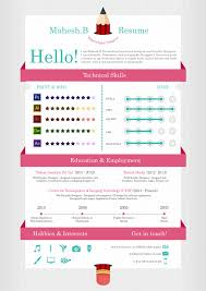 infographic resume templates 55 amazing graphic design resume templates to win