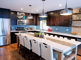 Cape And Island Kitchens Kitchen Concrete Island Kitchen Countertops With Double Waterfall