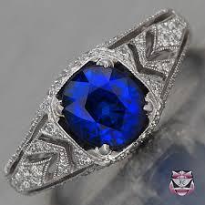 antique rings sapphire images Antique engagement ring collection antique engagement rings jpg