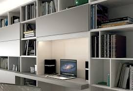 bureau bibliothèque intégré meuble tv avec bureau bibliothèque l10 colombini casa