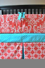 Aqua And Pink Crib Bedding by 50 Best Coral U0026 Robin U0027s Egg Blue Nursery Images On Pinterest