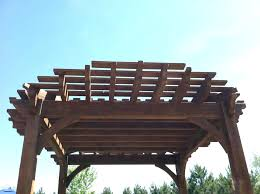 custom design kit home pergola design marvelous cedar gazebo kits home depot pergola