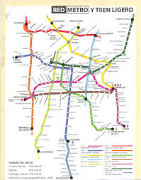 Metro Map Tokyo Pdf by Subway Map Mexico City My Blog