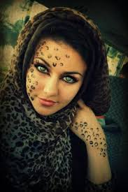 arab eyes Okay so you don     t have to do this  I just really think it     s pretty haha    but you know  you never know when you need to be a cheetah
