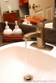 Moen Boardwalk Bathroom Faucet While They Snooze Installing A Bathroom Faucet Yourself