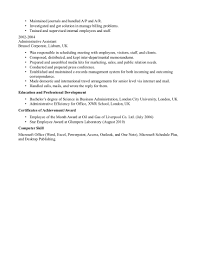 Resume Sample For Office Assistant by Sample Resume Medical Office Administration