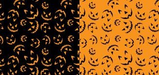 free download 5 halloween patterns adobe illustrator