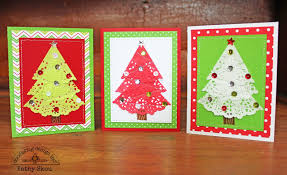 doodlebug design inc blog easy to duplicate christmas doily cards