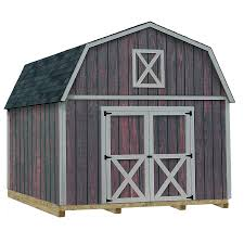 shop best barns common 12 ft x 16 ft interior dimensions 11 42