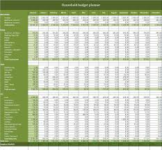 Best Home Budget Spreadsheet Free Household Budget Planner Excel Template To Download Excel