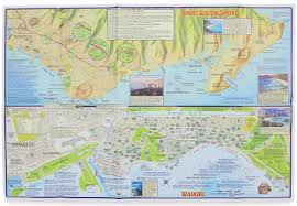 map of waikiki franko s guide map of waikiki and oahu frank nielsen
