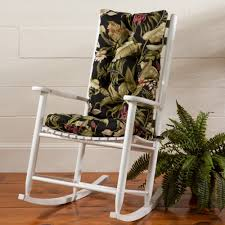 Black Rocking Chair For Nursery Furniture Wooden Rocking Chair Cushions For Nursery Helps You