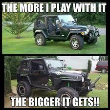 Jeep Wrangler Meme - new and improved bigger jeep tires on the way 4wd nation