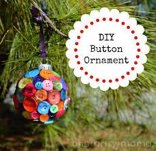 diy button ornament one artsy