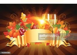 thanksgiving celebration background with banner vector getty