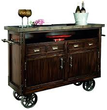 Kitchen Console Cabinet Amazon Com Howard Miller Barrow Wine And Bar Storage Console
