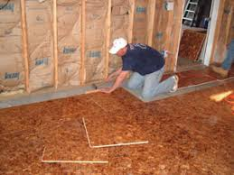 subfloors and underlayments how to