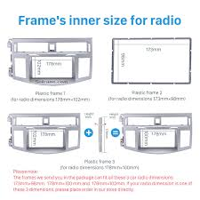 toyota product line double din 2006 toyota avalon car radio fascia audio fitting