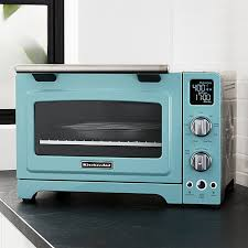 kitchenaid toaster oven blue kitchenaid countertop oven crate and barrel