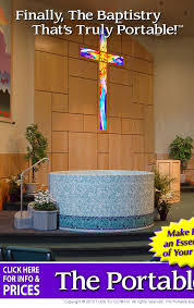 portable baptismal tank baptistry ministry tools churches church stage