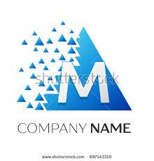 large set vector logos letter m stock vector 309091010 shutterstock