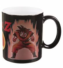 Dragon Coffee Cup Ball Super Saiyan Heat Changing Mug