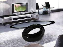 Black Glass Side Table Black Glass Coffee Tables Sale Cairo Oval Black High Gloss Clear
