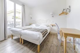 chambre lit jumeaux chambres de l hôtel korner montparnasse beaugrenelle