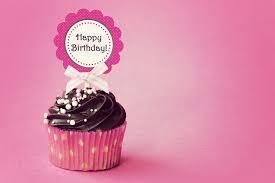 happy birthday cupcake birthday cake hd wallpaper