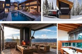 wood interior homes ten ski homes that prove modern is the next big thing curbed