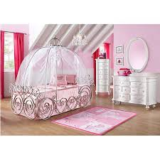 romms to go kids disney princess 6 pc carriage bedroom disney bedroom sets