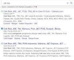 cek resi jne berdasarkan nama 3 cara cek resi jne yang error dengan cepat online leskompi