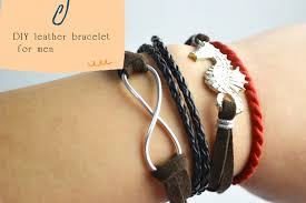 make bracelet with leather cord images Category diy bracelets collections of pendants jpg